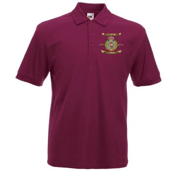 Southward Camp Embroidered Polo Shirt